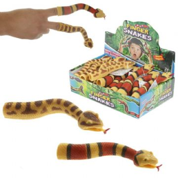 Stretchy Snake Finger Puppet